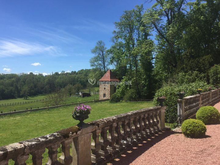 Château de Laforest - Parc