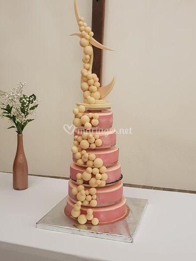 Gâteau monté mariage
