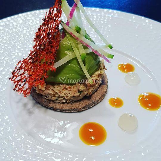 Araignée de mer guacamole