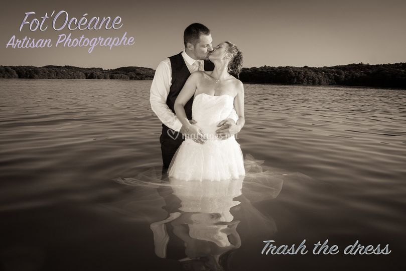 Trash the dress...