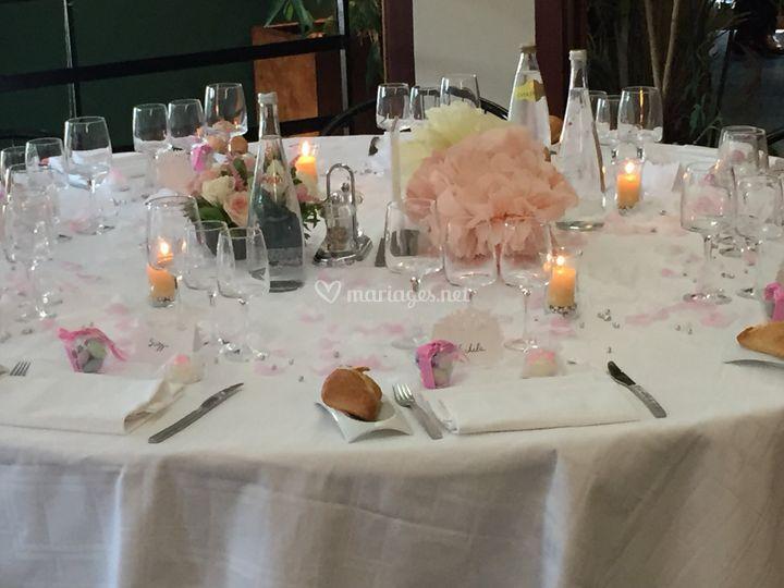 Table d'honneur 08/07
