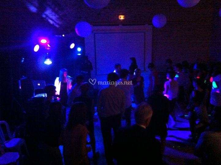 Concert dansant intéractif