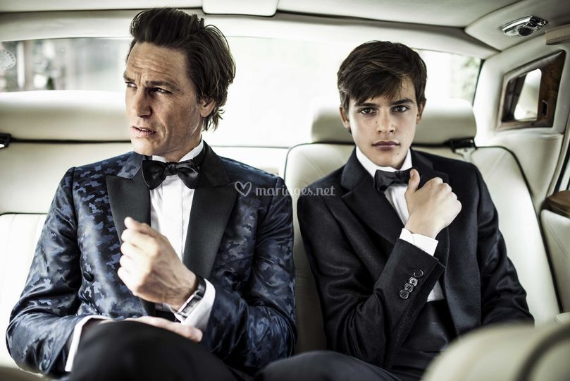 Scabal costumes mariage