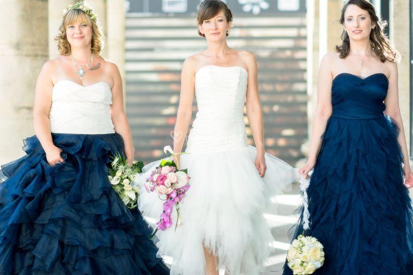 Les mariées droles de dames