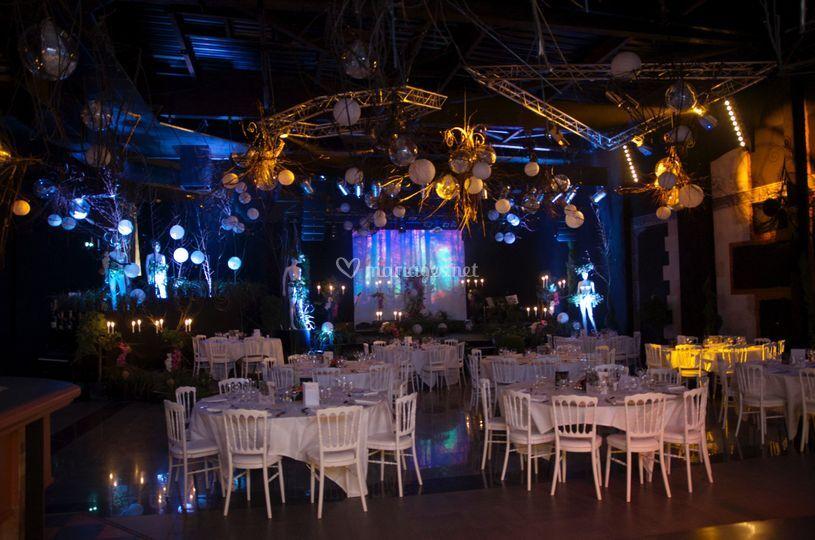 Salle de banquet