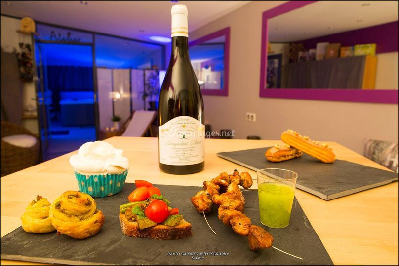 Test accords mets et vins