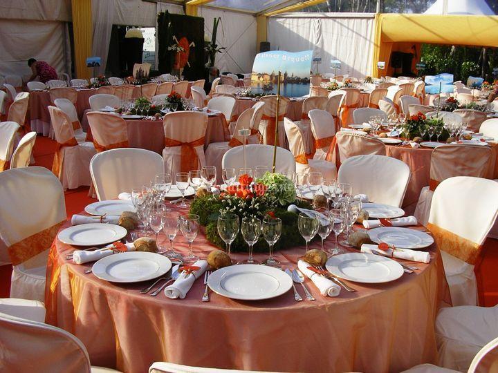 Salle mariage chapiteau