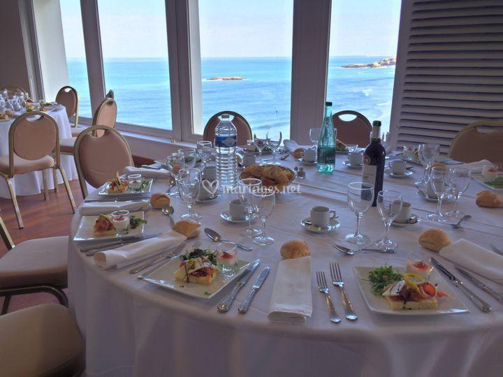 Déjeuner Bellevue Biarritz