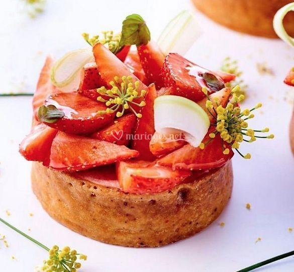 Tratelette aux fraises