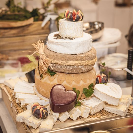 Le Wedding cheese cake