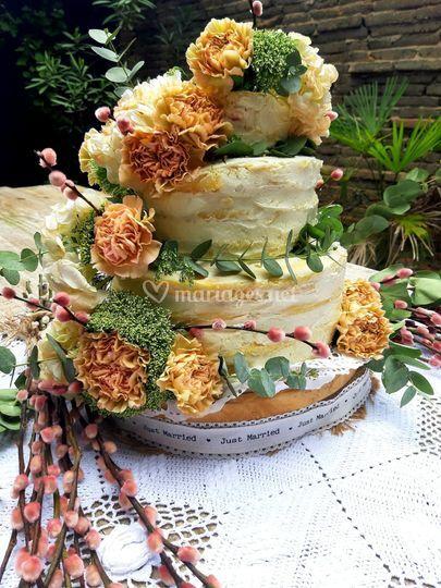 Naked Cake Framboise Letchis