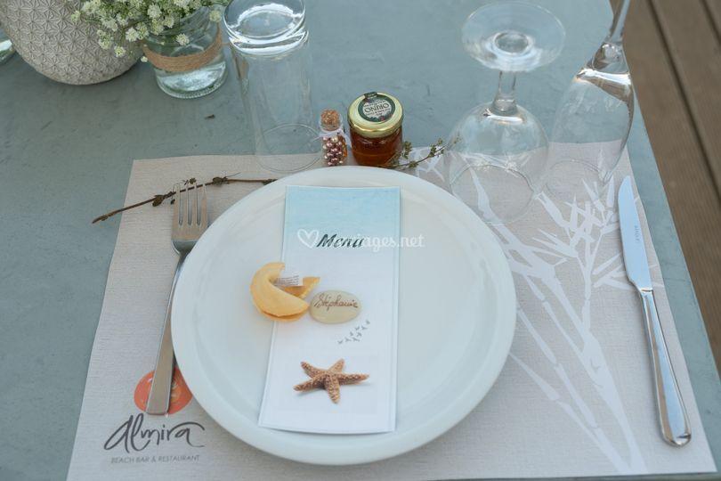 Menu de mariage en Crète