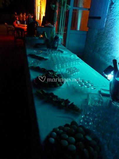 Buffet de fin de soirée
