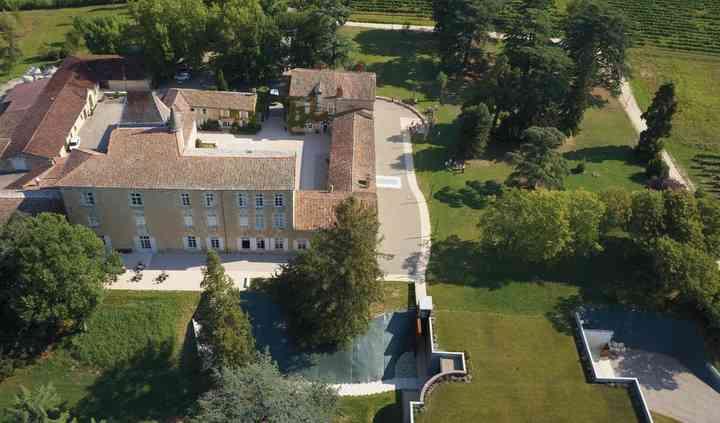 Vue aérienne Château/Complexe