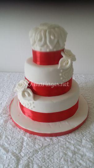 Wedding cake Jennifer 50 parts