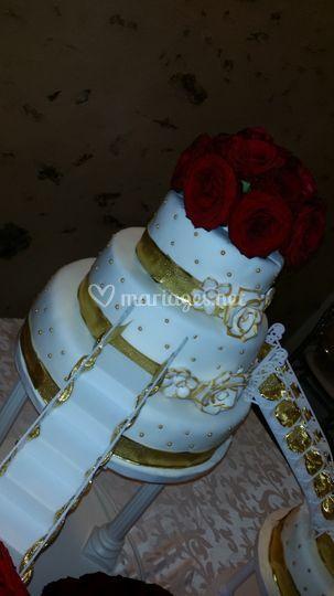 Wedding cake malika