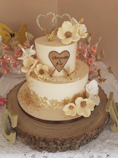 Wedding cake 30 parts