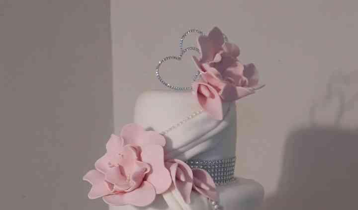 Wedding cake genoise fourrée