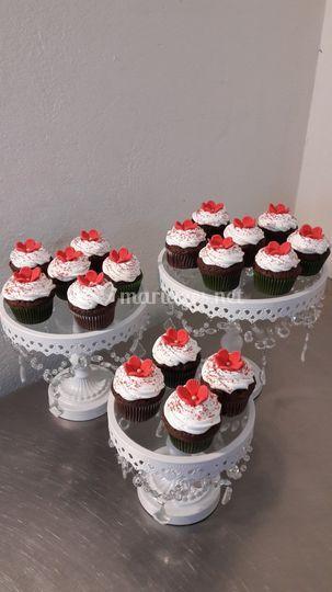 Cup cake chocolat