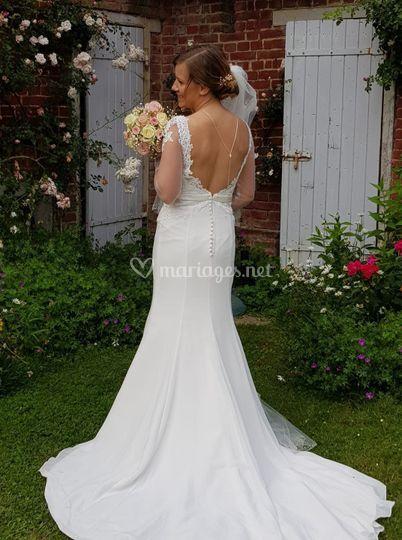 Photo de la robe de mariée