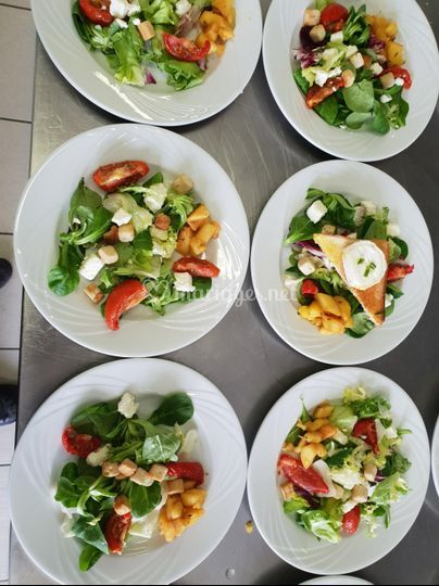 Salade meli melo du chef