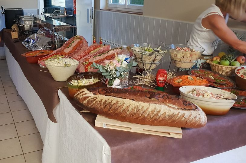 Buffet froid et chaud