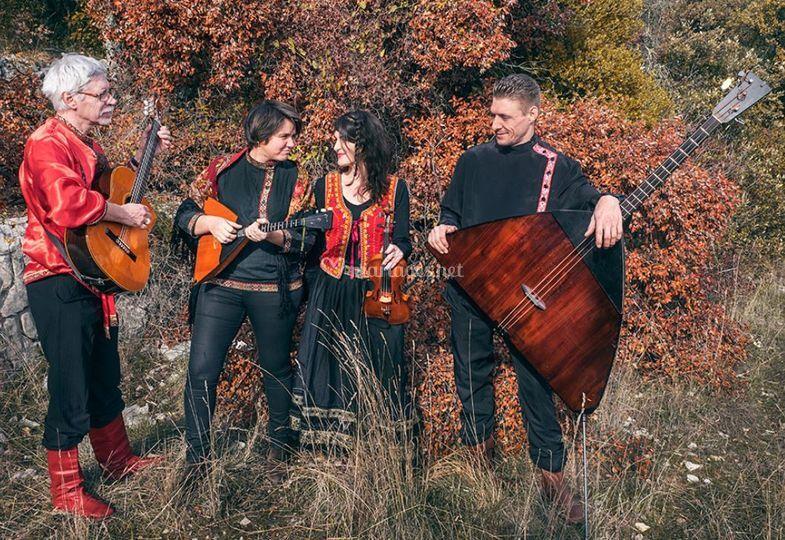 Zima, musique russe et tzigane