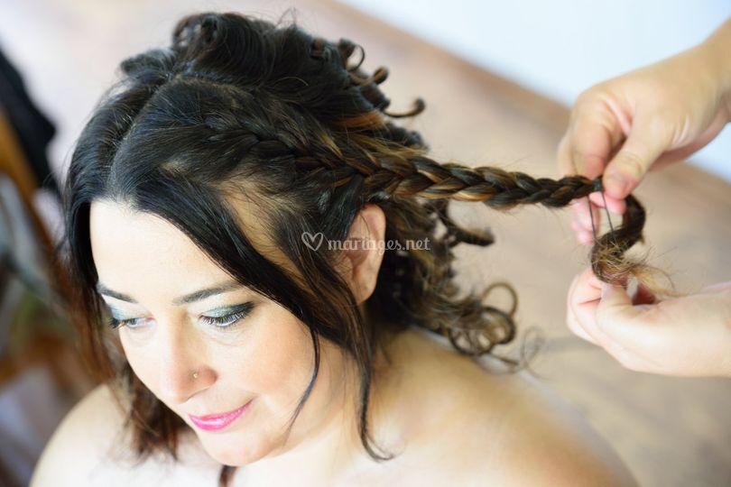 Préparration de la mariée