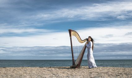 Evélina Simon - harpiste 1