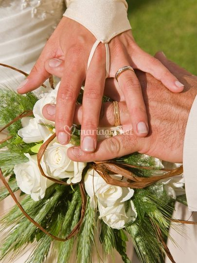 Alliance de mariés