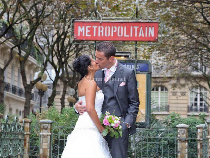 Parc mariés Paris