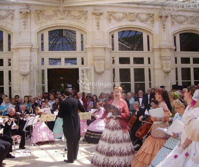 Grand orchestre de musique et choriste de vichy