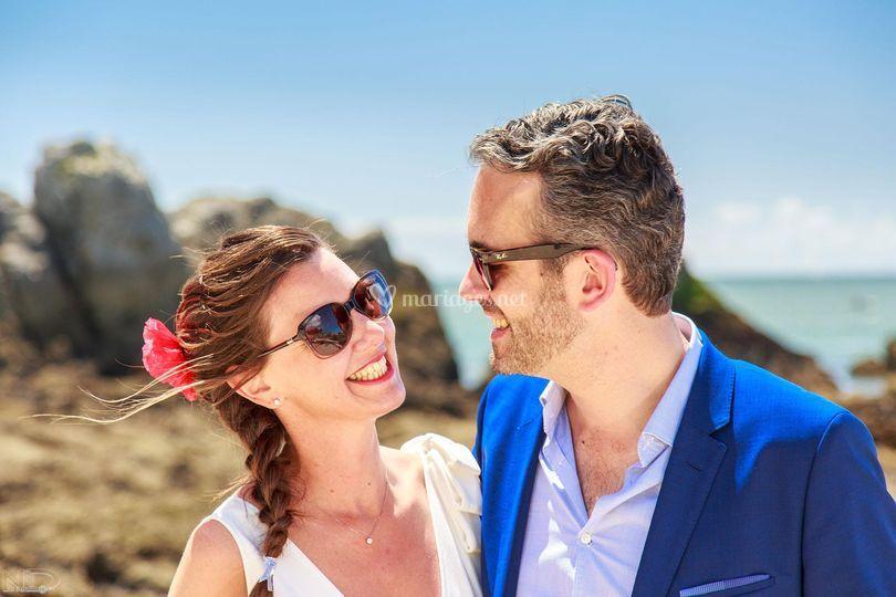 Mariage plage du Pouliguen
