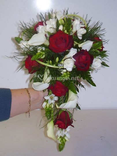 Bouquet tombant