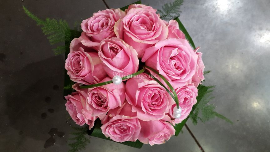 Bouquet roses rose