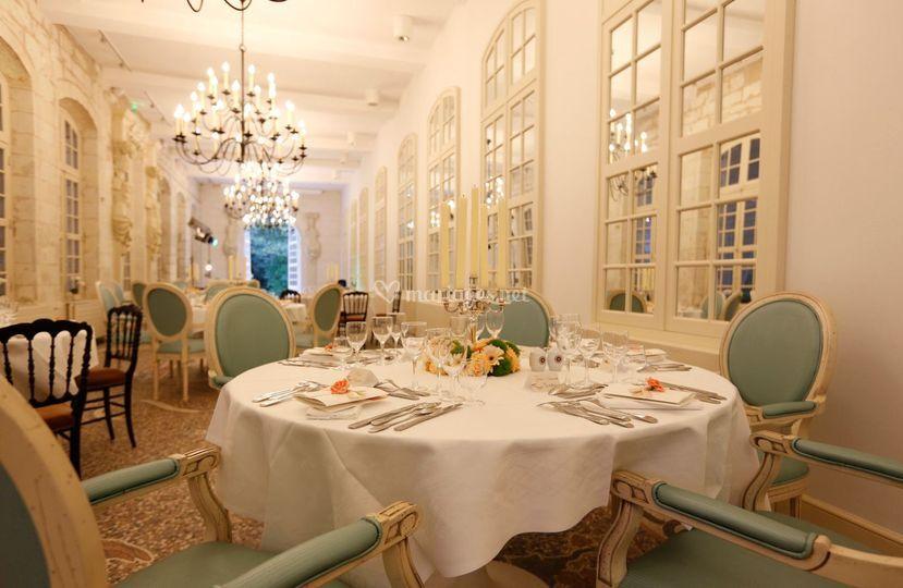 salle de lorangerie sur chteau de chenonceau - Chateau De Chenonceau Mariage