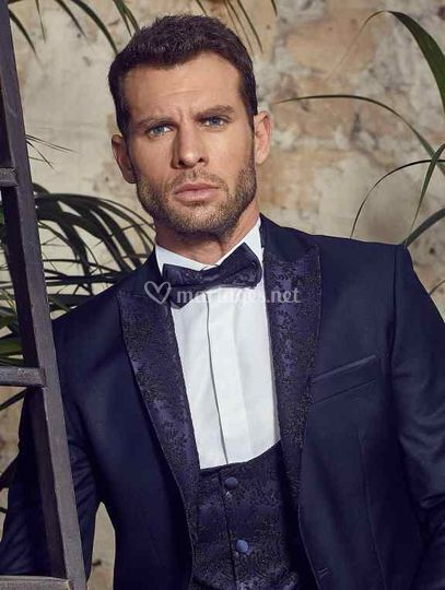 Costume mariage homme bleu