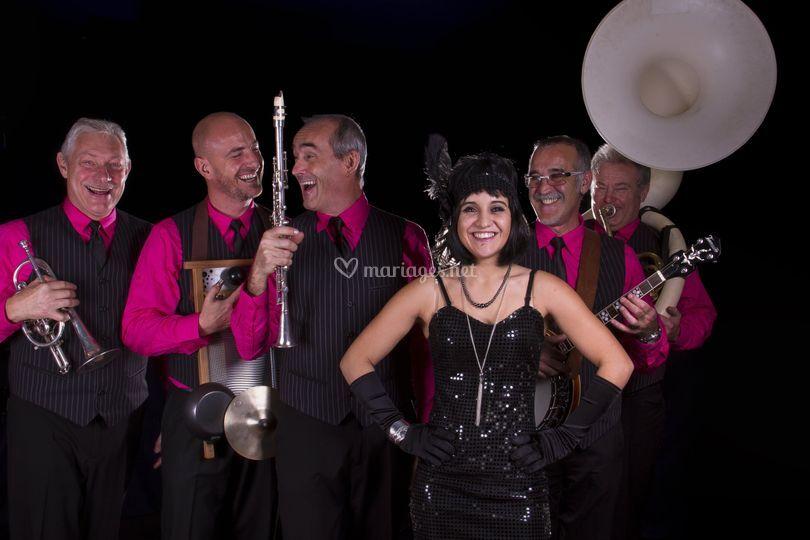 New parade jazz band et Cassandre