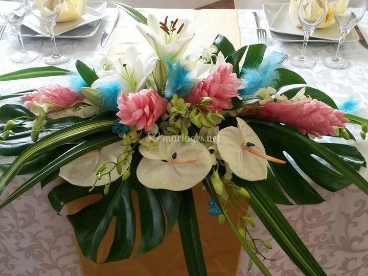 Bouquet - table d'honneur