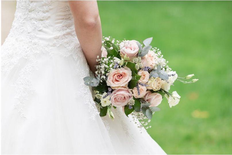Joli bouquet de mariée