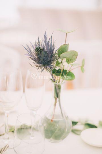 Bouquet champêtre chic