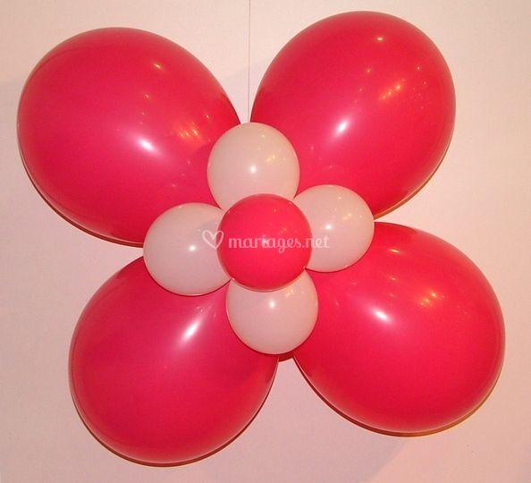 Fleur de ballons