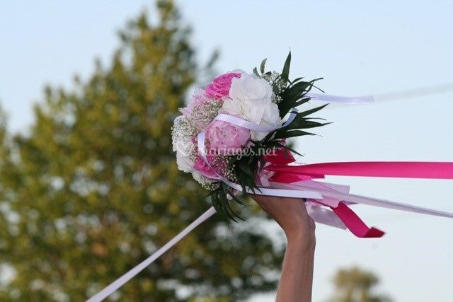 Bouquet mariage champêtre chic