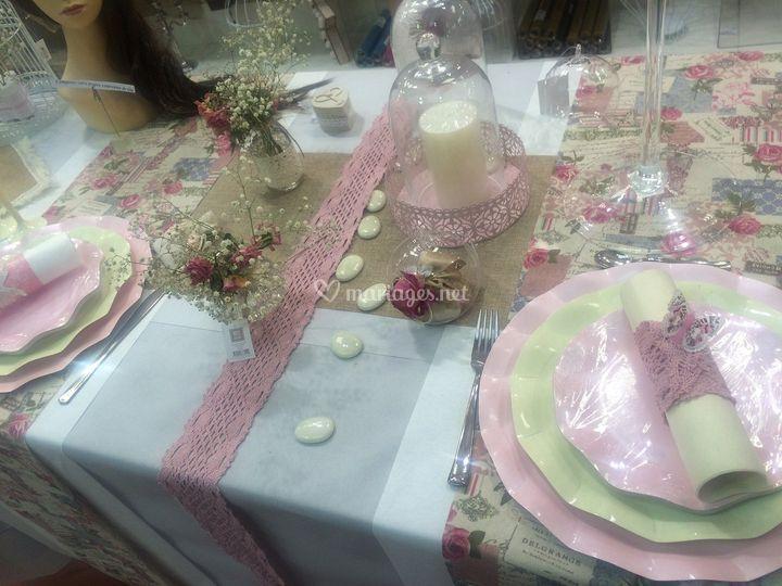Table champêtre.