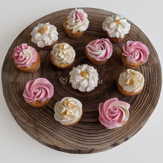 Minis cupcakes fleurs