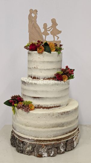 Naked cake automnal