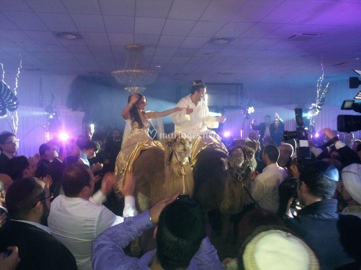 Mariage theme oriental