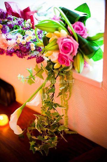 Seven photographie bouquet