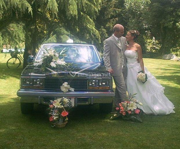 Mariés sur Cadillac City du Berry