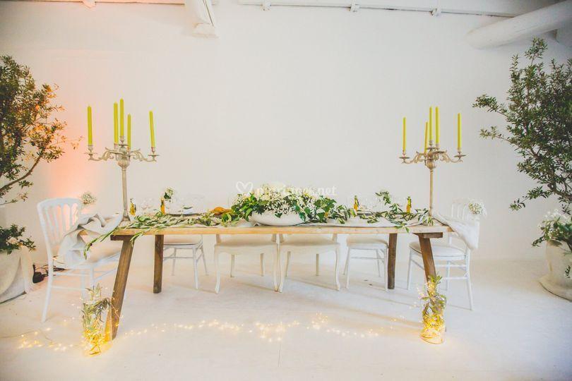 Mariage A&A - Table d'honneur